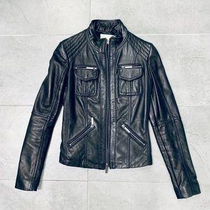 Michael Kors Leather Jacket